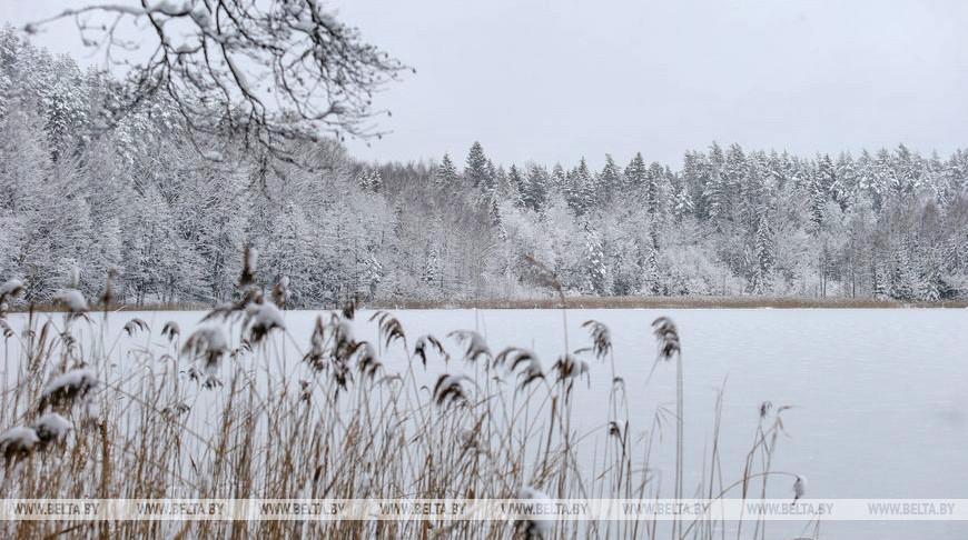 """Зима в заказнике """"Голубые озера"""""""