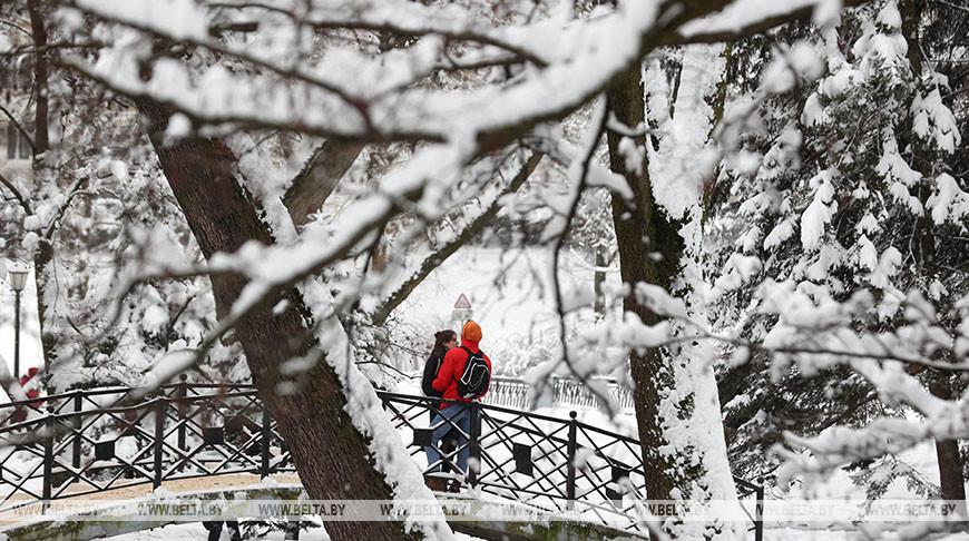 Мороз и небольшой снег ожидается в Беларуси 11 января
