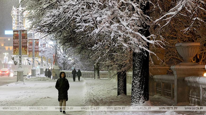 Вторая декада января будет холоднее обычного