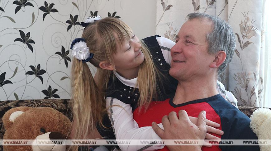 Тракторист из Белыничского района Николай Даречкин - делегат Всебелорусского народного собрания