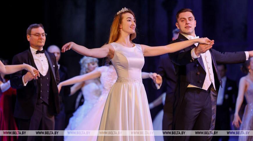 Новогодний бал прошел в Большом театре Беларуси