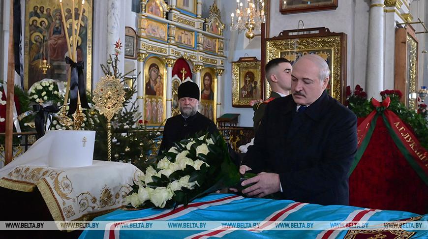 Лукашенко простился с митрополитом Филаретом