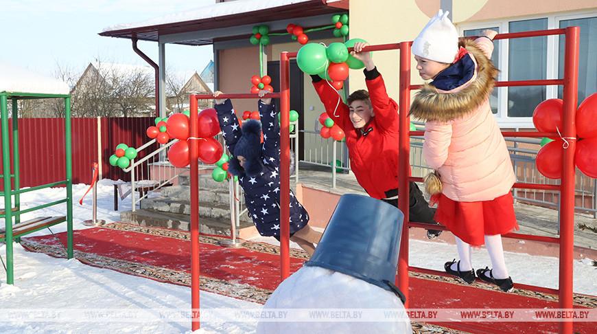 Новый детский дом семейного типа открыли в Горках