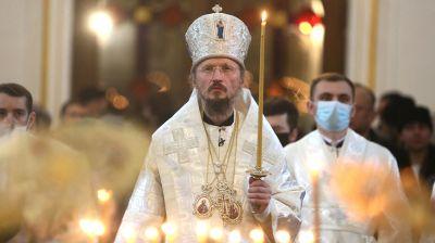 В Жировичах простились с митрополитом Филаретом