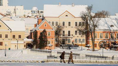 Морозный Минск
