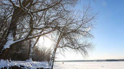 Зима на Минском море