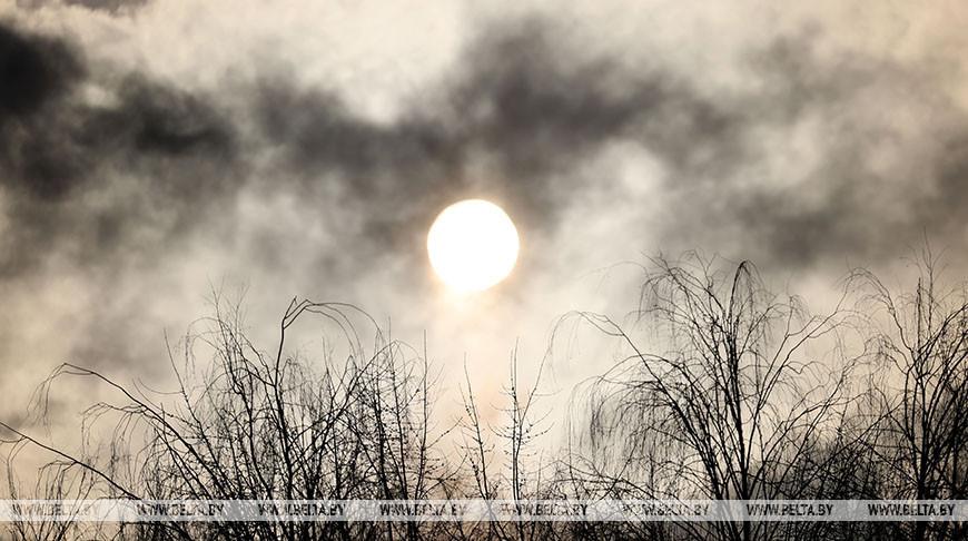 Морозный день в Витебске