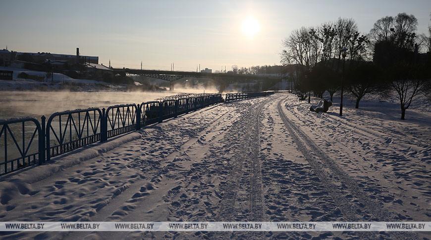 Оранжевый уровень опасности объявлен на 18 января из-за морозов