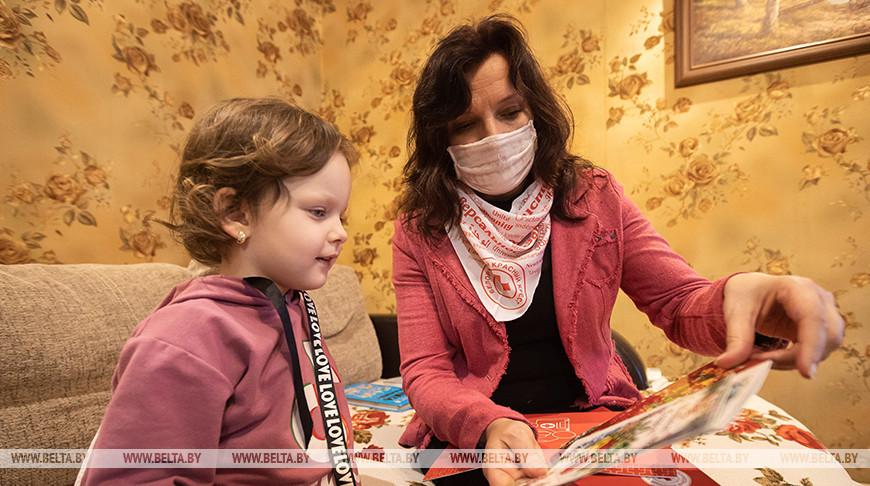 БОКК вручило подарки многодетной семье из Минского района