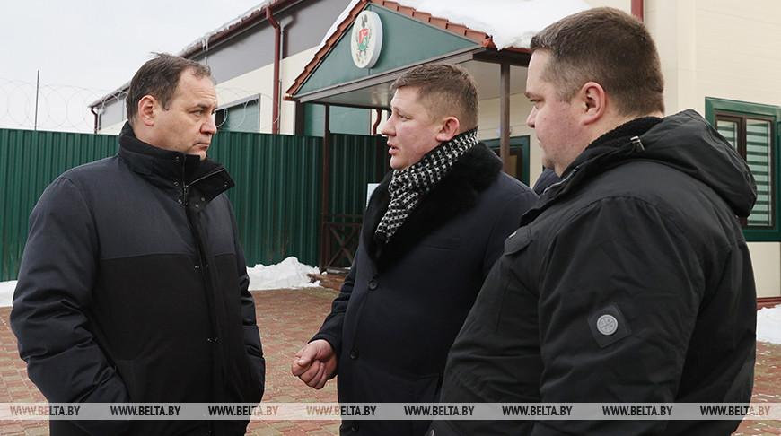 Головченко ознакомился с новым производством по переработке мяса дичи в Верхнедвинском районе