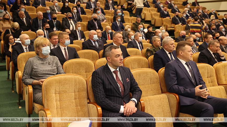 Собрание участников ВНС от Гродненской области прошло в областном центре
