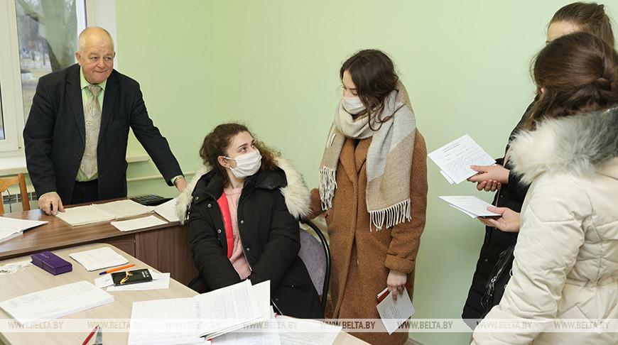 Студенты Гомельского медицинского университета заселяются в новое общежитие