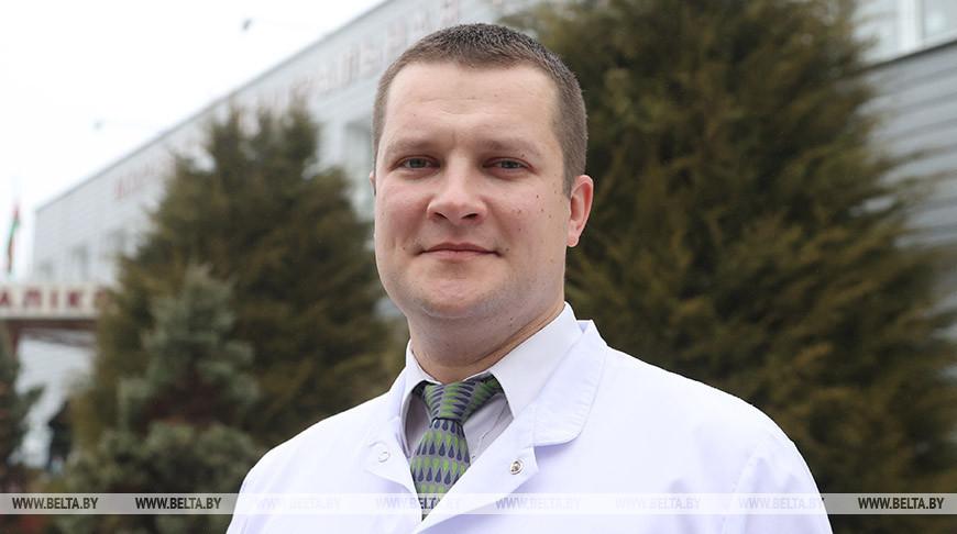 Главный врач Шкловской больницы Сергей Новиков - делегат ВНС