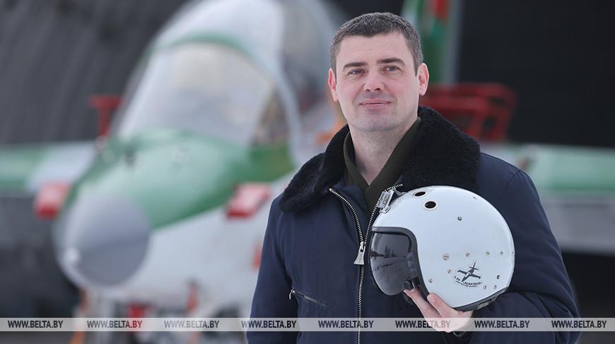 Военный летчик Эдуард Жмакин - делегат VI Всебелорусского народного собрания