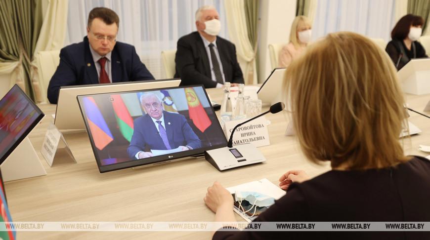 Научная конференция к юбилею Академии управления проходит в Минске