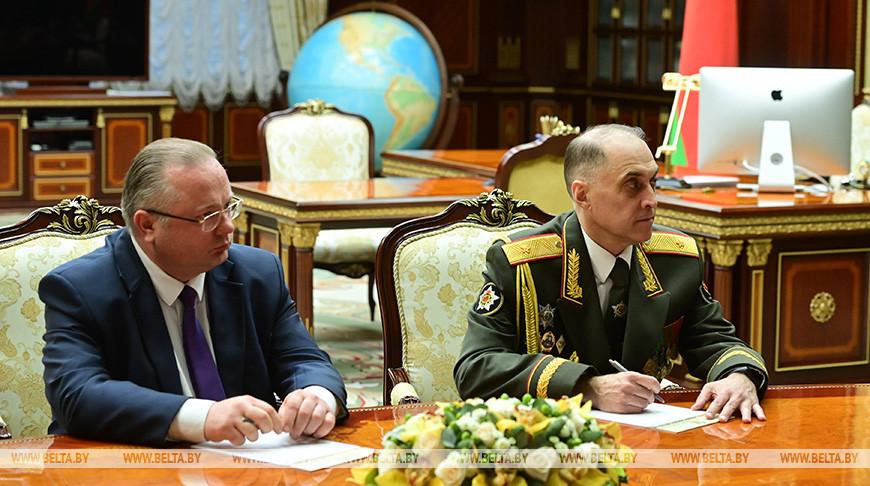 Лукашенко назначил новых госсекретаря Совбеза и председателя КГК