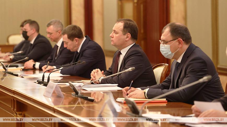 Встреча Головченко и Мишустина прошла в Москве