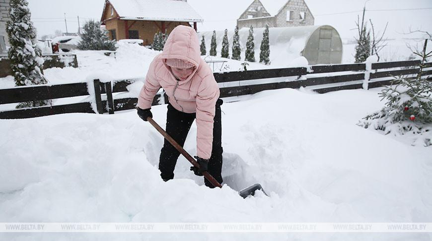 "В Гродно устраняют последствия циклона ""Ларс"""