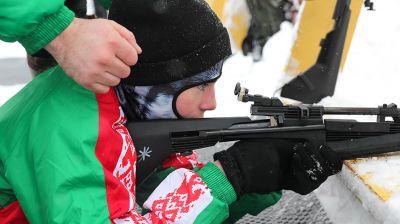 """Областные соревнования """"Снежный снайпер"""" стартовали в Барановичском районе"""