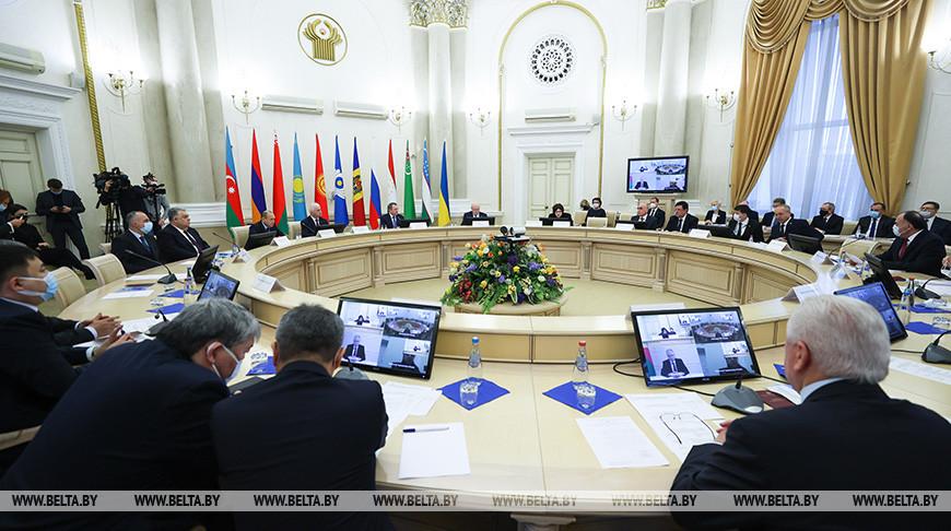 Заседание Совета постоянных полномочных представителей государств - участников СНГ при уставных и других органах Содружества прошло в Минске