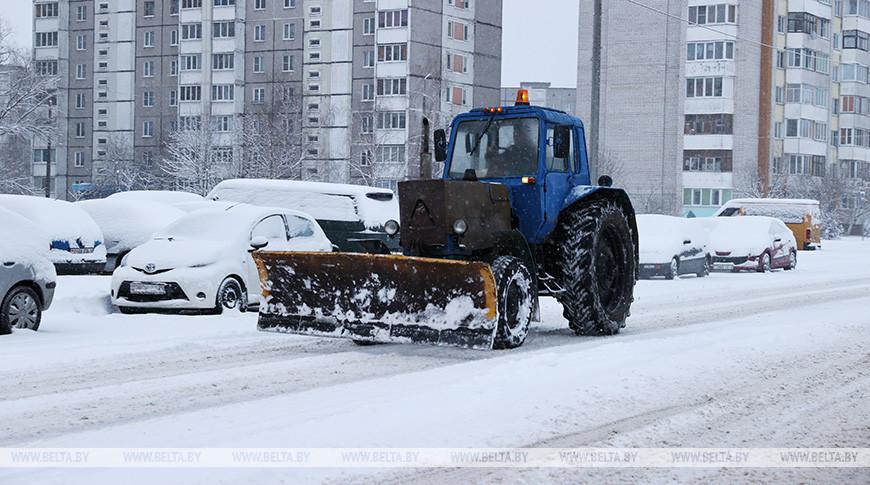 Снег и до 12 градусов мороза ожидается в Беларуси в выходные