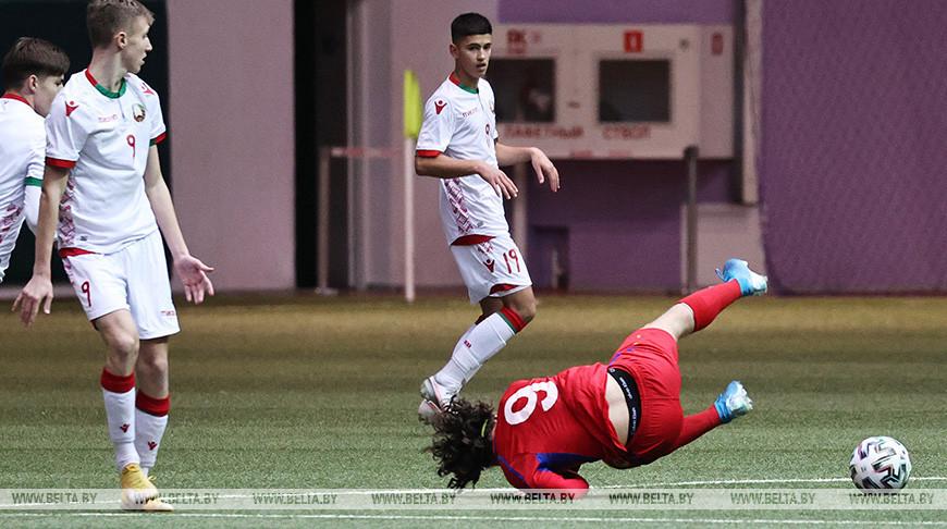 Белорусы проиграли футболистам Молдовы на старте Кубка развития