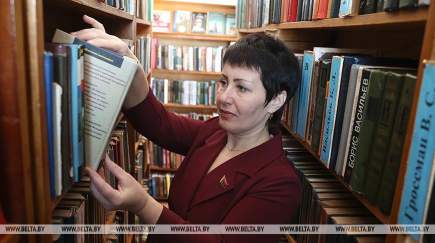 Елена Максимович - делегат VI Всебелорусского народного собрания