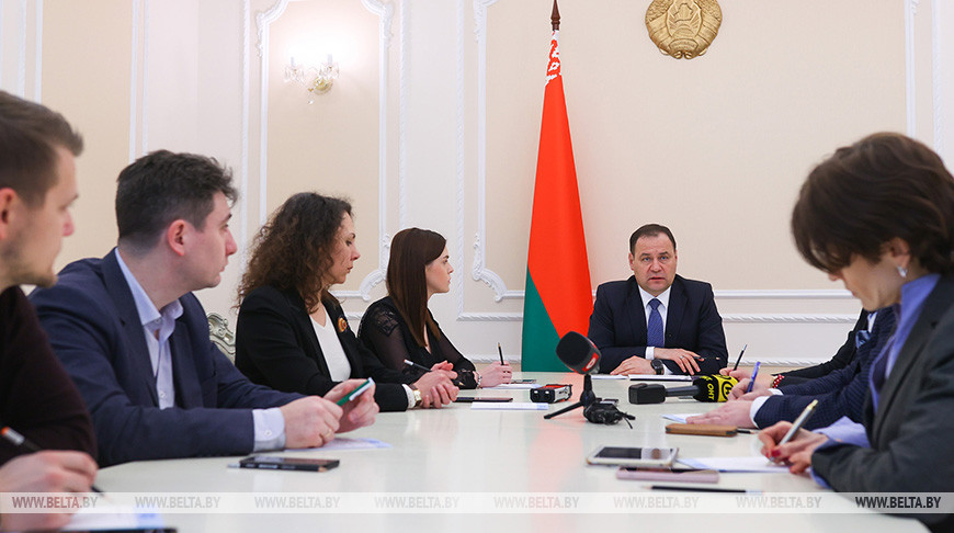 Головченко ответил на вопросы журналистов