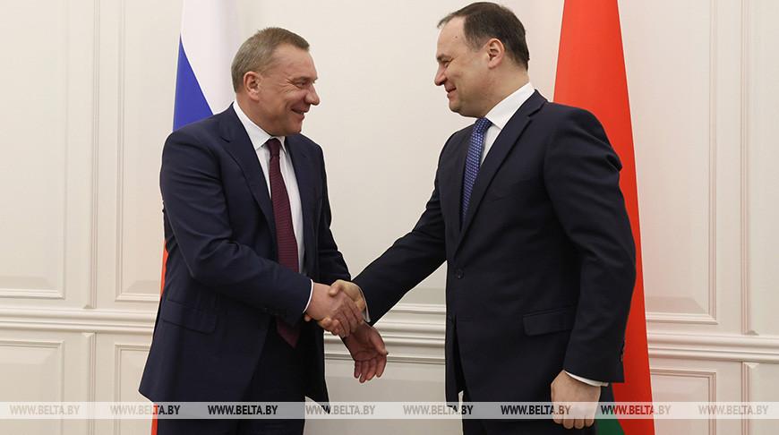 Головченко встретился с вице-премьером России