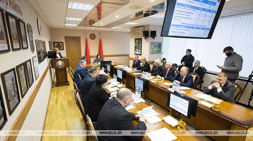 Выездное заседание Президиума Совета Республики прошло в администрации Московского района Минска
