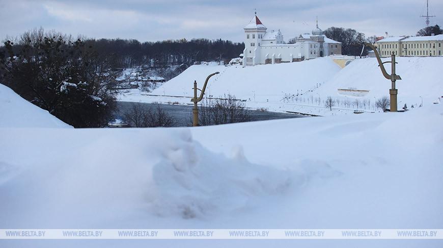 Снегопад в Гродно превзошел рекорд 50-летней давности