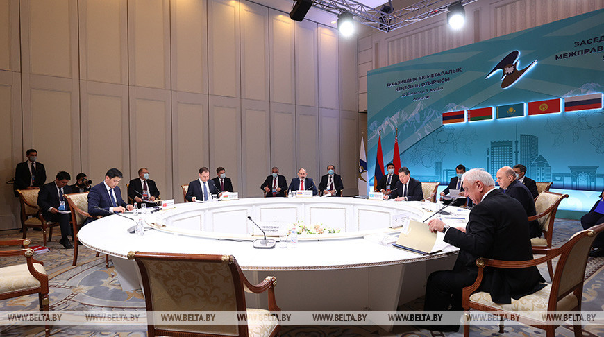 Заседание Евразийского межправсовета в узком составе прошло в Алматы