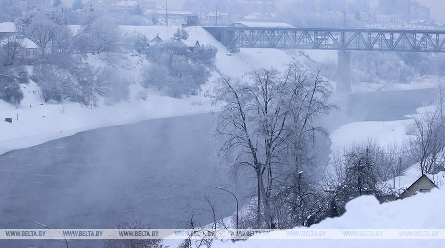 До 28 градусов мороза ожидается в Беларуси 8 февраля