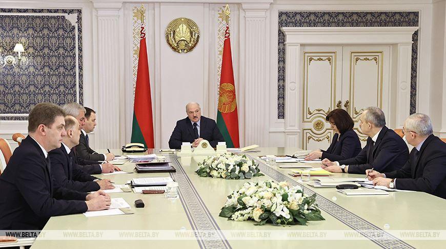 Финальные штрихи подготовки к Всебелорусскому народному собранию обсуждаются на совещании у Лукашенко