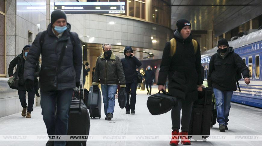 БЖД на первый рейс Минск - Москва продала более 230 билетов