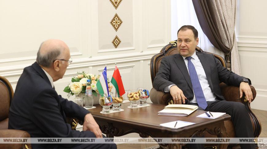 Головченко встретился с послом Узбекистана