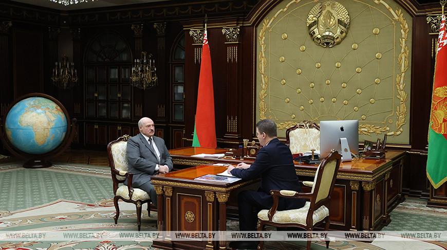 Лукашенко принял с докладом мэра столицы