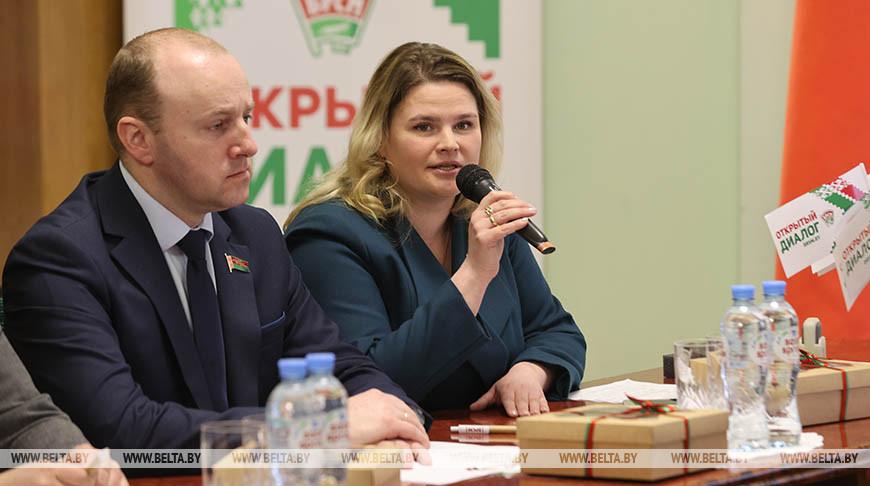 """БРСМ дал старт республиканской патриотической акции """"Роднае - народнае"""""""