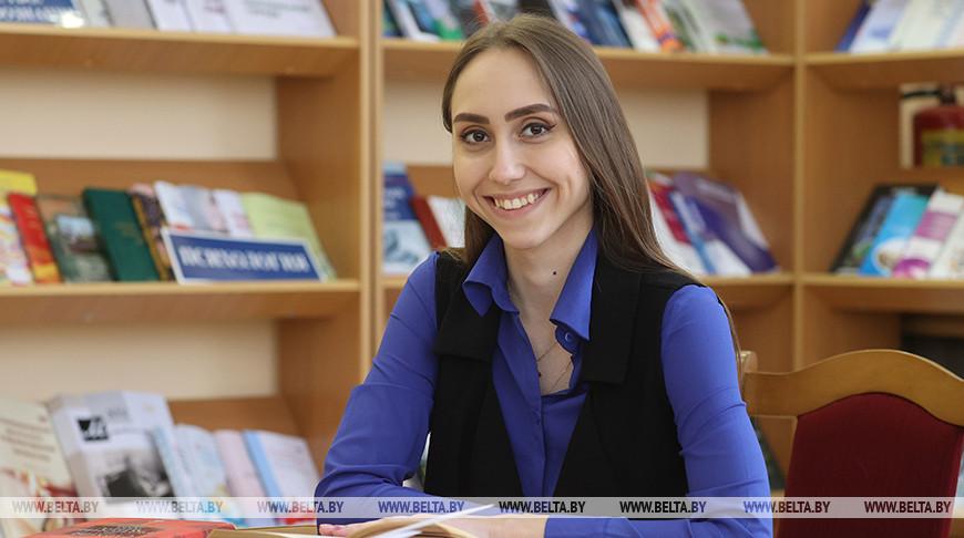 Студентка Яна Кущина - делегат VI Всебелорусского народного собрания