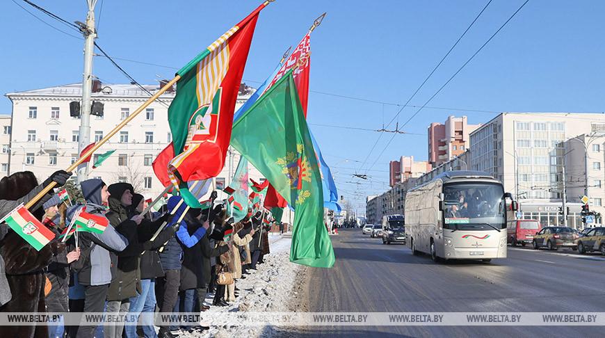 Делегаты от Витебской области отправились в столицу на Всебелорусское народное собрание
