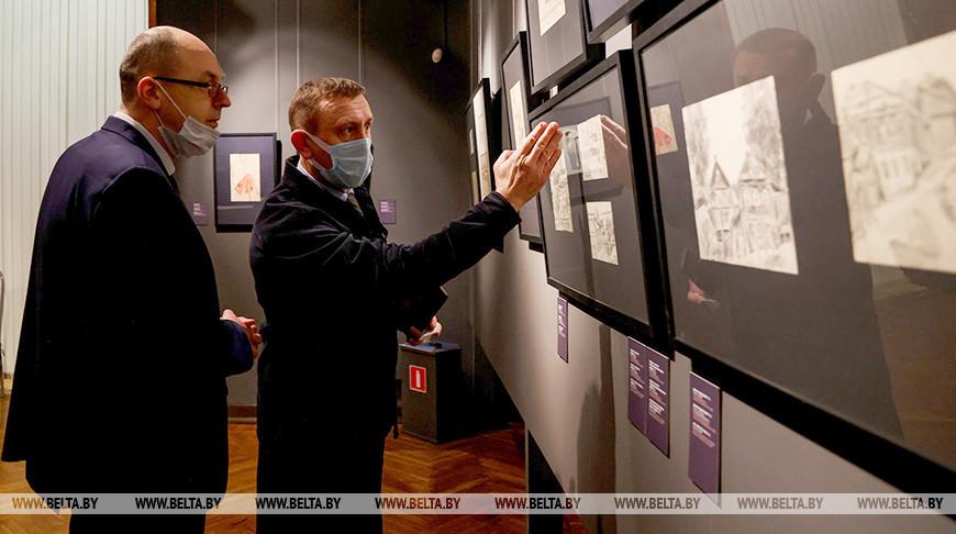 Выставкаработ Давида Якерсона открылась в НХМ