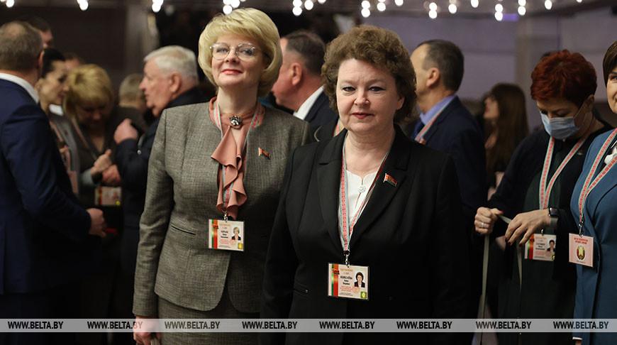 Второй день работы VI Всебелорусского народного собрания в Минске