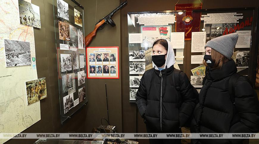 Витебскому городскому музею воинов-интернационалистов 25 лет