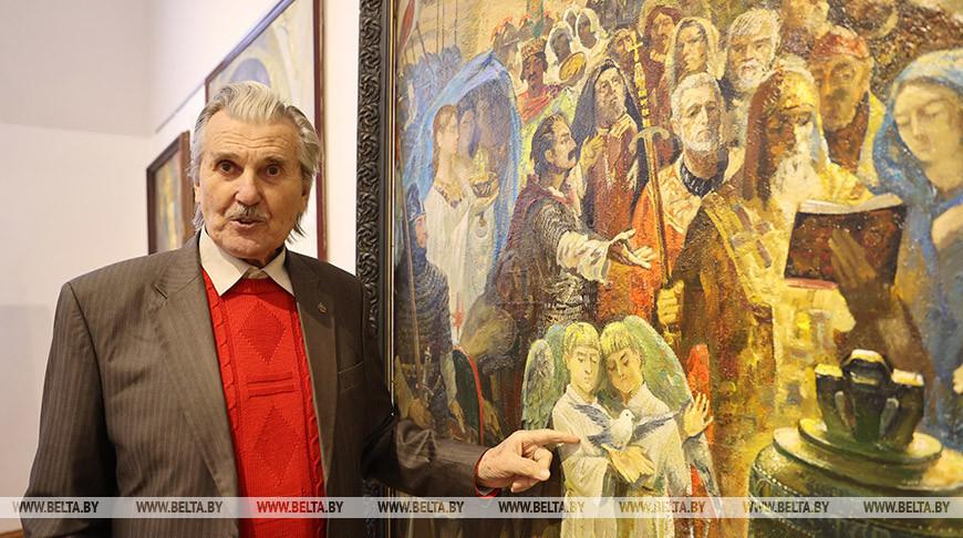 Выставка работ портретиста Николая Опиока проходит в Минске
