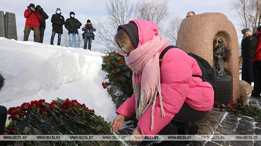 В Минске прошел митинг в память о погибших воинах-интернационалистах