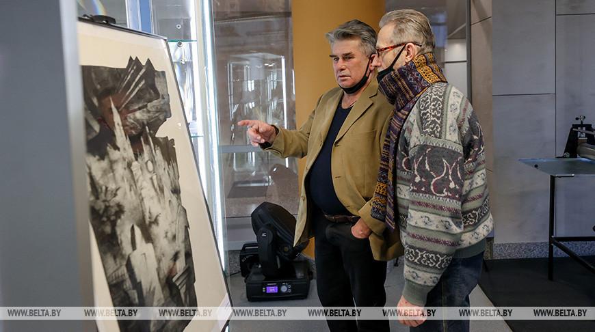 Выставка книжной графики открылась в Национальной библиотеке