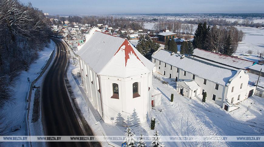 Костел Святого Михаила Архангела в Мозыре - памятник архитектуры позднего барокко