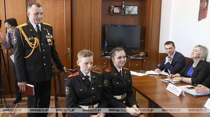 Лискович провел в Слониме прием несовершеннолетних и их законных представителей