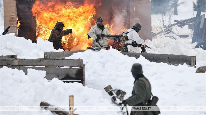 "На ""Линии Сталина"" прошло мероприятие ко Дню защитников Отечества"