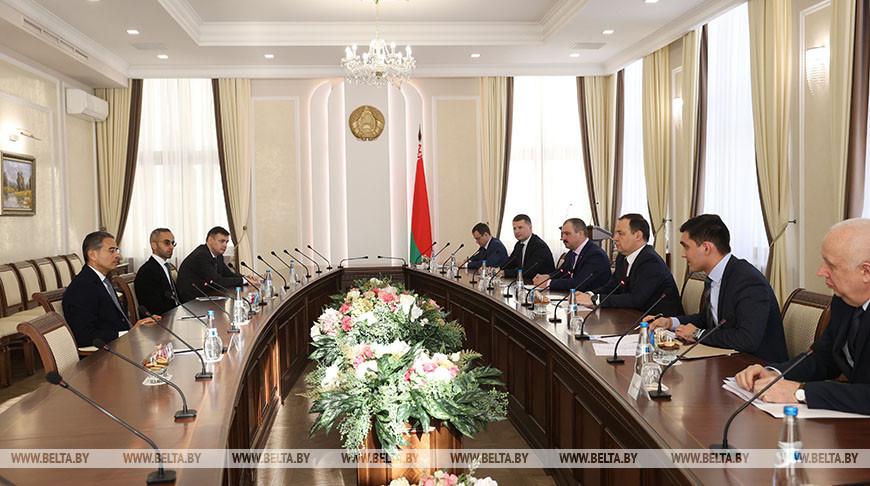 Головченко встретился с председателем совета директоров инвестиционной компании Emaar Properties